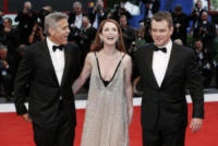 Matt Damon, Julianne Moore, George Clooney - Venezia - 02-09-2017 - Venezia 74, Clooney-Amal, la coppia perfetta del festival