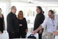 tino vettorello, Vincenzo Mollica - Venezia - 31-08-2017 - Venezia 74, Alessandro Borghi, che risate da Tino Vettorello