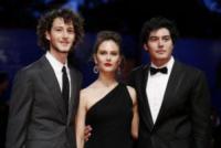 Paola Calliari, Cristiano Caccamo, Vincenzo Crea - Venezia - 03-09-2017 - Venezia 74: Susan Sarandon è la stella del Premio Kinéo
