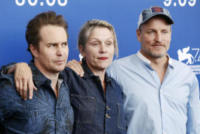 Woody Harrelson, Frances Mcdormand, Sam Rockwell - Venezia - 04-09-2017 - Venezia 2017: standing ovation per il film di Martin McDonagh