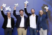 Alessandro Rak, Marino Guarnieri, Dario Sansone, Ivan Cappiello - Venezia - 05-09-2017 - Venezia 74, arriva Gatta Cenerentola, il miracolo napoletano