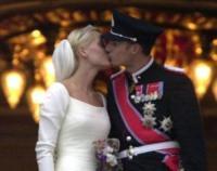 Principe Haakon Magnus di Norvegia, Mette-Marit di Norvegia - Oslo - 08-12-2000 - Harry e Meghan all'altare insieme? Non sarebbe la prima volta...