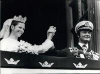 Regina Silvia di Svezia, Carlo Gustavo di Svezia - 06-06-1976 - Kate Middleton e le altre: da Cenerentola a principessa