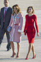 Rania di Giordania, Letizia Ortiz - Madrid - 19-11-2015 - Kate Middleton e le altre: da Cenerentola a principessa