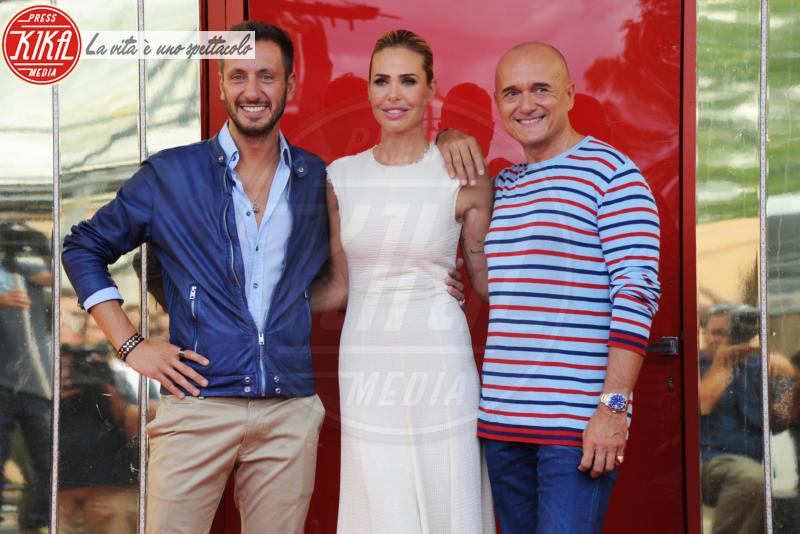 Alessandro Sansone, Alfonso Signorini, Ilary Blasi - Roma - 08-09-2017 - Ilary Blasi ancora al timone del Grande Fratello Vip