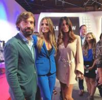 Andrea Pirlo, Federica Nargi, Heidi Klum - New York - 07-09-2017 - Andrea Pirlo beato tra le donne, la foto fa il giro del web