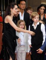 Vivienne Jolie-Pitt, Shiloh Jolie-Pitt, Angelina Jolie - Toronto - 11-09-2017 - Angelina Jolie, la premiere è un affare di famiglia