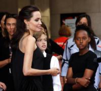 Shiloh Jolie-Pitt, Zahara Jolie-Pitt, Angelina Jolie - Toronto - 11-09-2017 - Angelina Jolie, la premiere è un affare di famiglia