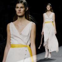 Modella, Model - Madrid - 16-09-2017 - Madrid Fashion Week: la sfilata di Menchen Tomas