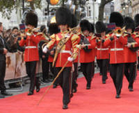 Band of The Irish Guards - Londra - 20-09-2017 - Margot Robbie romantica per la prima di Addio Christopher Robin