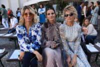 Cristina De Pin, Justine Mattera, Elena Barolo - Milano - 21-09-2017 - MFW, sfila la bellezza nel backstage di Luisa Beccaria