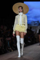 Modella - Milano - 22-09-2017 - Milano Fashion Week: la sfilata Elisabetta Franchi