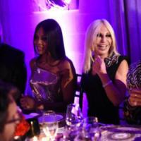 Donatella Versace, Naomi Campbell - Milano - 23-09-2017 - Milano Fashion Week: Versace in passerella con le icone anni 90