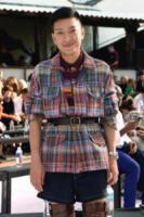 Ospite - Milano - 23-09-2017 - Milano Fashion Week: Ludovica Frasca e Luca Bizzarri da Missoni