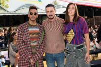 Ludovica Frasca, Lewis Hamilton, Luca Bizzarri - Milano - 23-09-2017 - Milano Fashion Week: Ludovica Frasca e Luca Bizzarri da Missoni