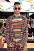 Lewis Hamilton - Milano - 23-09-2017 - Milano Fashion Week: Ludovica Frasca e Luca Bizzarri da Missoni