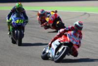 Marc Marquez, Jorge Lorenzo, Valentino Rossi - Aragona - 24-09-2017 - Aragona: Marc Marquez vince e mette l'ipoteca sul titolo