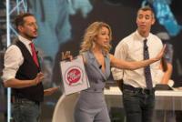 Mia Cerrano, Paolo Kessisoglu, Luca Bizzarri - Roma - 24-09-2017 - Quelli che il calcio: la sorella di Schick si prende la scena