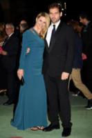 Tomaso Trussardi, Michelle Hunziker - Milano - 24-09-2017 - Colin Firth, primo evento pubblico da cittadino italiano