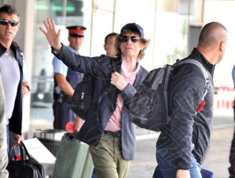 Mick Jagger - Barcellona - 24-09-2017 - Ronnie Wood, ma come porti in braccio tua figlia?