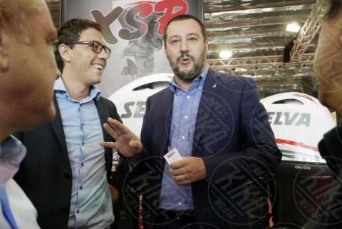 Matteo Salvini - Genova - 24-09-2017 - Genova: la 57esima edizione del Salone Nautico