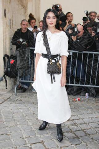 Kristina Bazan - Parigi - 26-09-2017 - La famiglia Ferragni conquista Parigi alle sfilate di Dior