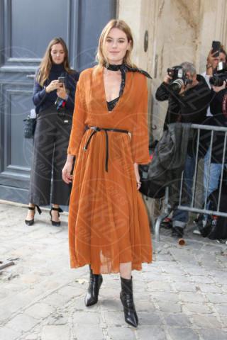 Camille Rowe - Parigi - 26-09-2017 - La famiglia Ferragni conquista Parigi alle sfilate di Dior