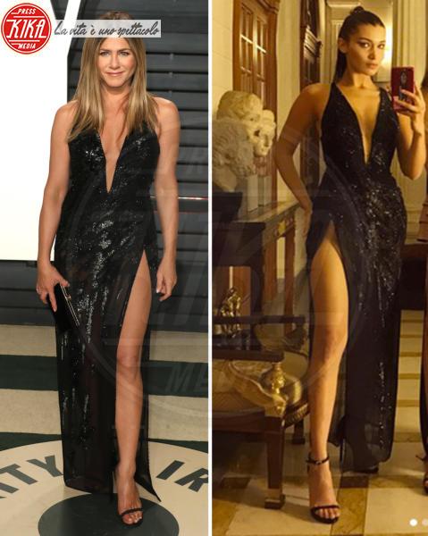 Bella Hadid, Jennifer Aniston - 28-09-2017 - Chi lo indossa meglio? Ecco i look brillanti per le feste!