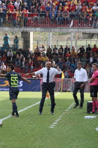 Marco Baroni, Luciano Spalletti - Sant'Agata De' Goti - 01-10-2017 - Benevento-Inter: super Brozovic lancia i nerazzurri
