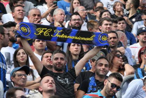 tifosi Inter - Sant'Agata De' Goti - 01-10-2017 - Benevento-Inter: super Brozovic lancia i nerazzurri