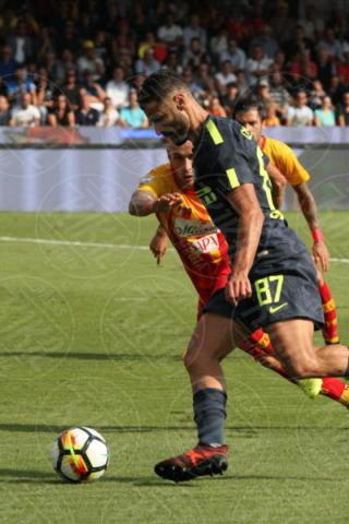 Antonio Candreva - Sant'Agata De' Goti - 01-10-2017 - Benevento-Inter: super Brozovic lancia i nerazzurri