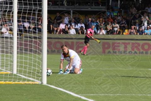 Vid Belec - Sant'Agata De' Goti - 01-10-2017 - Benevento-Inter: super Brozovic lancia i nerazzurri