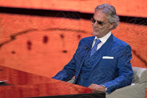Andrea Bocelli - Milano - 01-10-2017 - Che Tempo che Fa nel segno di Andrea Bocelli e Bebe Vio