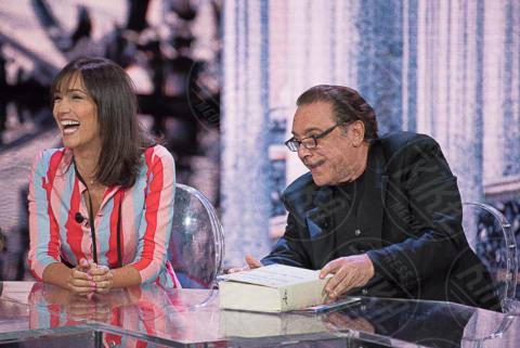 Nino Frassica, Caterina Balivo - Milano - 01-10-2017 - Che Tempo che Fa nel segno di Andrea Bocelli e Bebe Vio