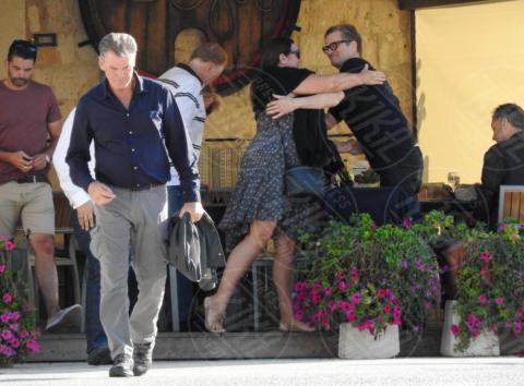 Colin Firth, Keely Shaye Smith, Pierce Brosnan - Lissa - 01-10-2017 - Mamma Mia 2, sul set Pierce Brosnan e Colin Firth