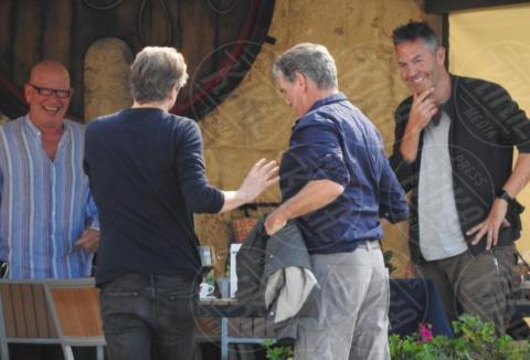 Colin Firth, Pierce Brosnan - Lissa - 01-10-2017 - Mamma Mia 2, sul set Pierce Brosnan e Colin Firth