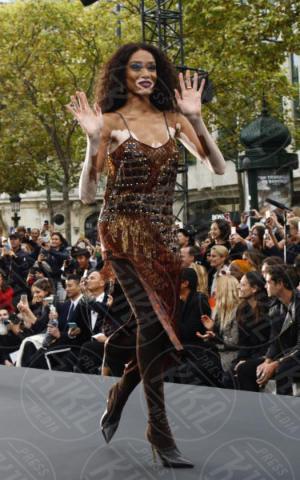 Winnie Harlow - Parigi - 01-10-2017 - PFW: Irina Shayk-Jane Fonda, sfilano tutte per L'Oreal