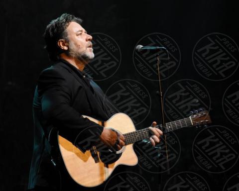 Russell Crowe - Dublino - 02-10-2017 - Russell Crowe & Co., quando l'attore diventa musicista