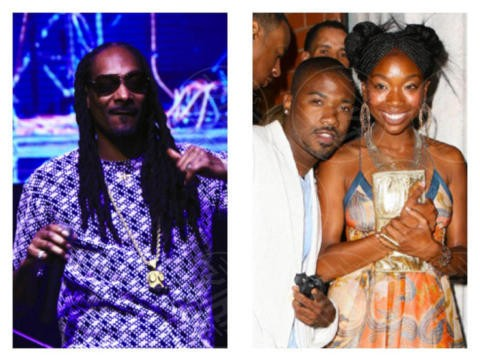 Ray J, Brandy, Snoop Dogg - Los Angeles - 03-10-2017 - Le celebrity che non sapevi fossero parenti