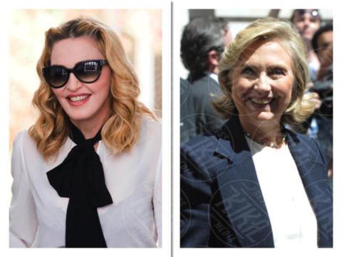 Hillary Clinton, Madonna - Los Angeles - 03-10-2017 - Le celebrity che non sapevi fossero parenti