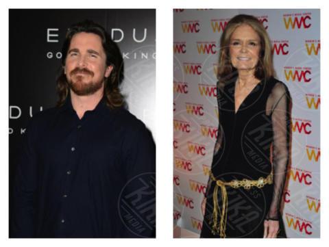 Gloria Steinem, Christian Bale - Los Angeles - 03-10-2017 - Le celebrity che non sapevi fossero parenti