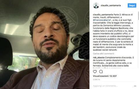 Claudio Santamaria - 04-10-2017 - Claudio Santamaria e Francesca Barra: denunciamo gli haters