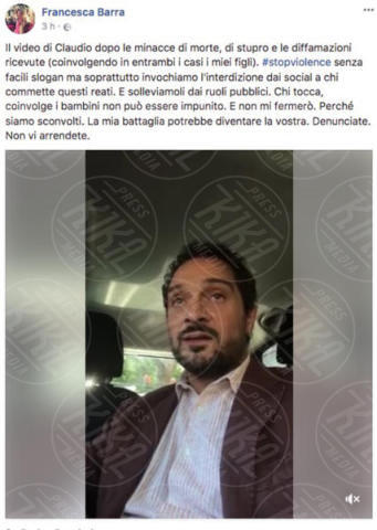 Francesca Barra - 04-10-2017 - Claudio Santamaria e Francesca Barra: denunciamo gli haters