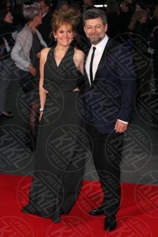 Lorraine Ashbourne, Andy Serkis - Londra - 04-10-2017 - BFI London Film Festival: aprono Andrew Garfield e Claire Foy