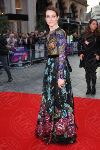 Claire Foy - Londra - 04-10-2017 - BFI London Film Festival: aprono Andrew Garfield e Claire Foy