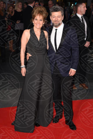 Lorraine Ashbourne, Andy Serkis - Londra - 04-10-2017 - BFI London Film Festival: aprono Andrew Garfield e Claire Foy