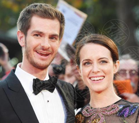 Claire Foy, Andrew Garfield - Londra - 04-10-2017 - BFI London Film Festival: aprono Andrew Garfield e Claire Foy