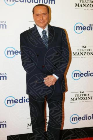 Silvio Berlusconi - Milano - 04-10-2017 - Silvio Berlusconi torna alla grande alla vita mondana