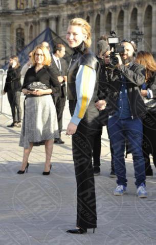 Cate Blanchett - Parigi - 03-10-2017 - Parigi come Hollywood, sfilata di attori al Louis Vuitton Show