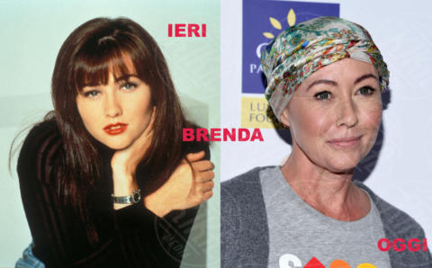 Shannen Doherty - 05-10-2017 - Beverly Hills 90210: i protagonisti ieri e oggi